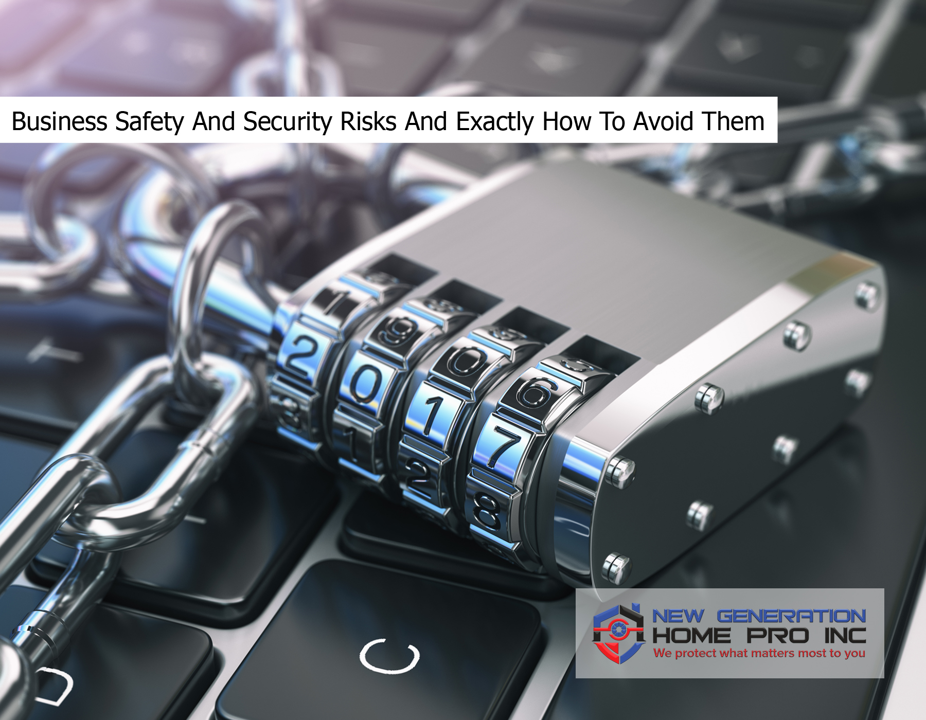 Business Safety And Security Risks And Exactly How To Avoid Them