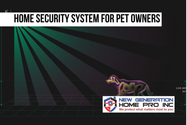 Home security system for pet owners