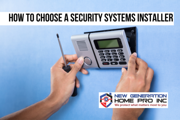 security system installer