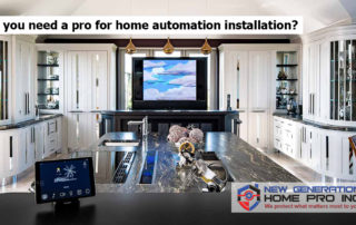 Do you need a pro for home automation installation?