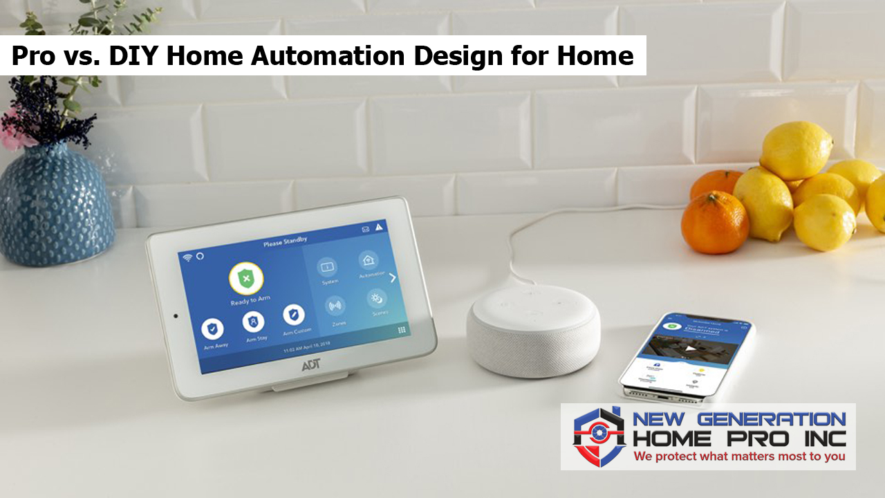 Pro vs. DIY Home Automation Design for Home