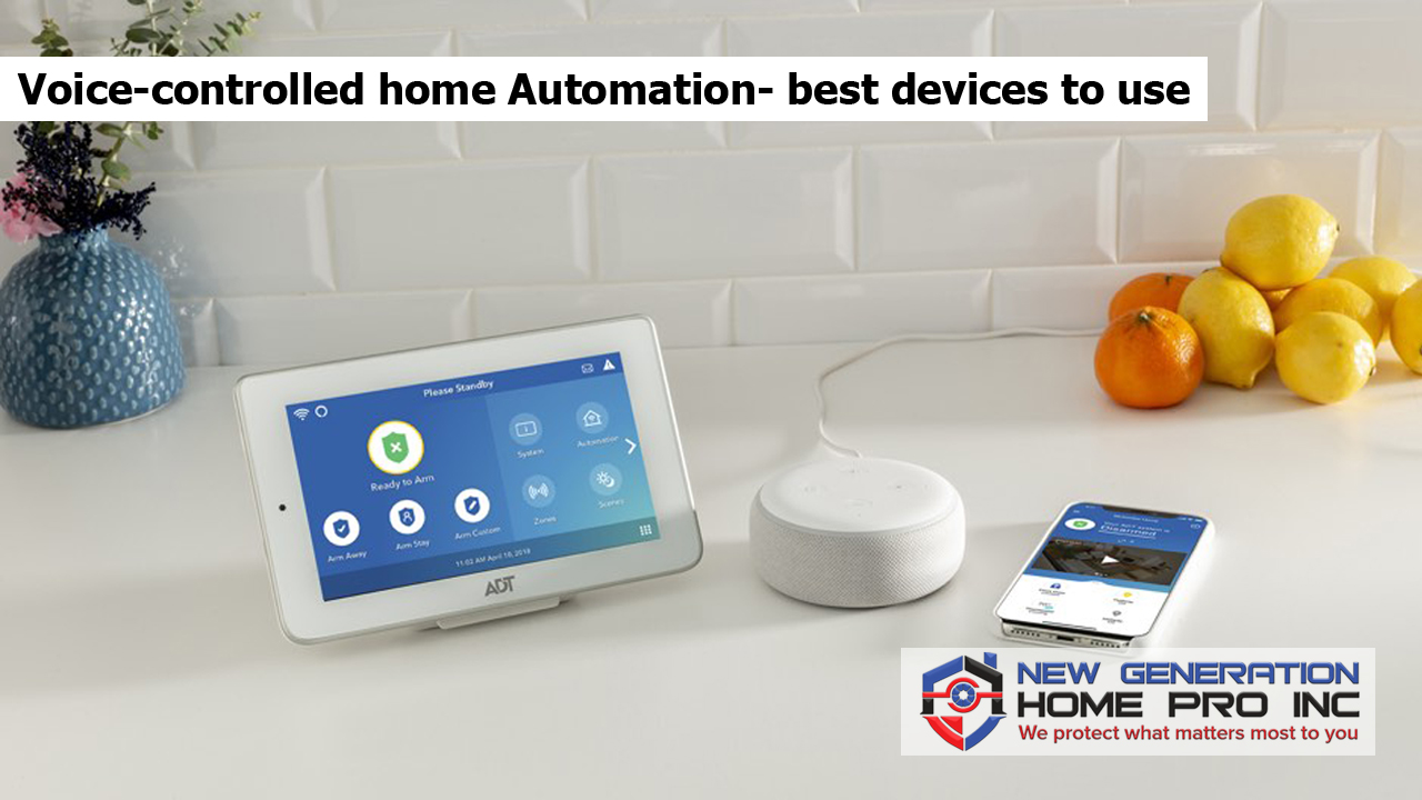 Voice-controlled home Automation- best devices to use