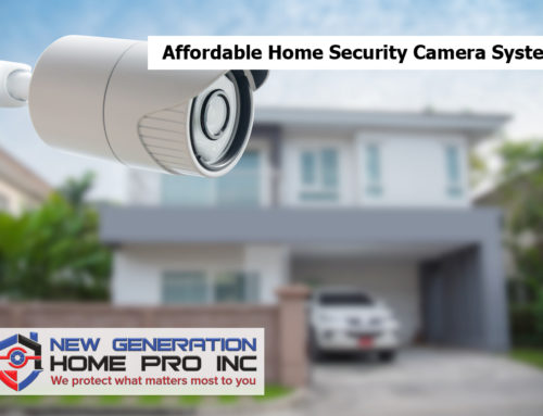 Affordable Home Security Camera Systems