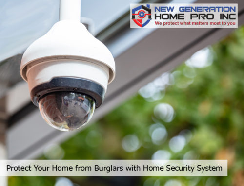 Protect Your Home from Burglars with Home Security System