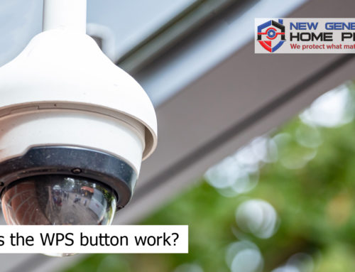 How does the WPS button work?