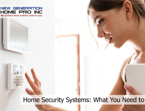 Home Security Systems: What You Need to Know